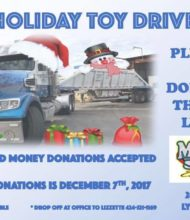 Toy Drive – Help Us Load a Construction Truck for the City of Lynwood